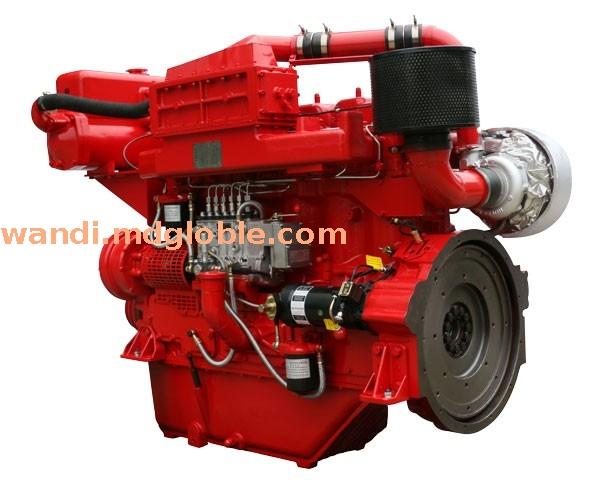 水-空中冷型消防泵用双启动柴油机