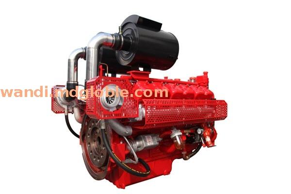 空-空中冷型消防泵用双启动柴油机