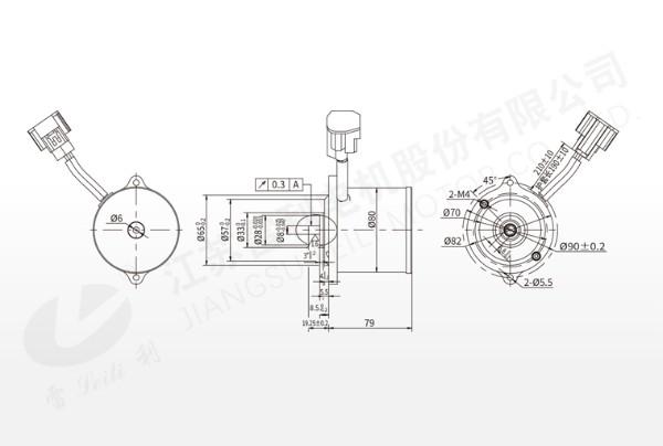 无刷直流电机 75WS