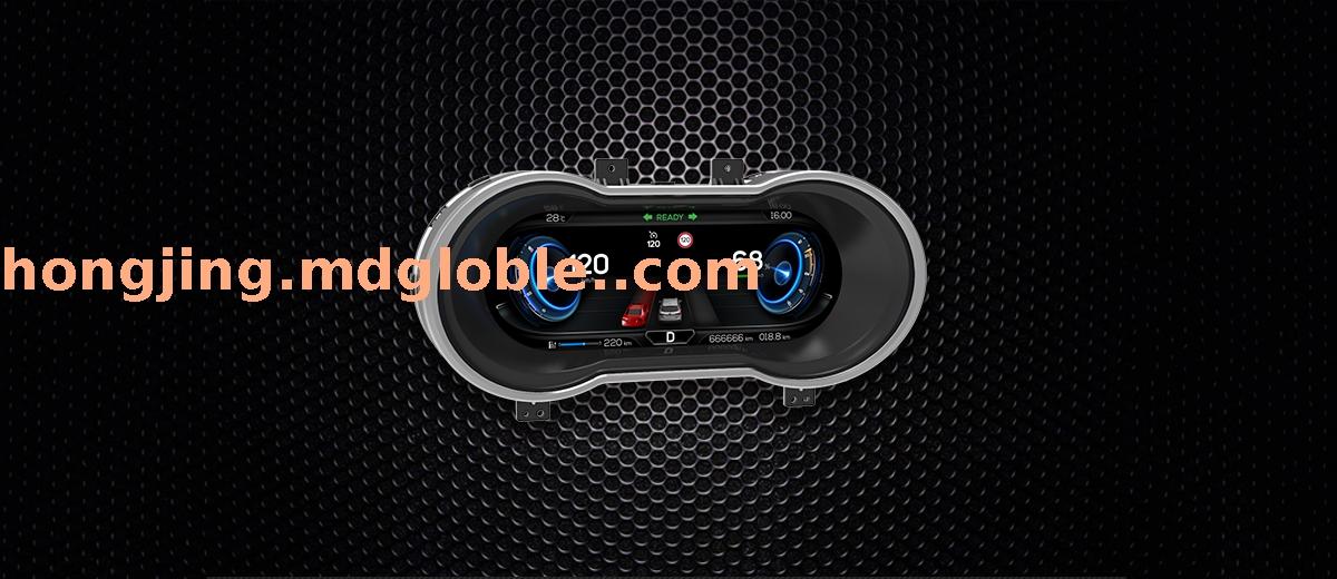 高端全液晶屏虚拟仪表