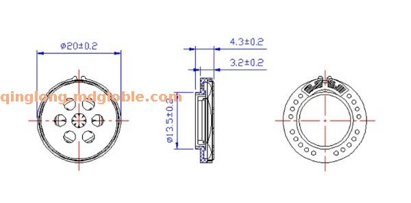 SMD&微型扬声器 SP-2008 B