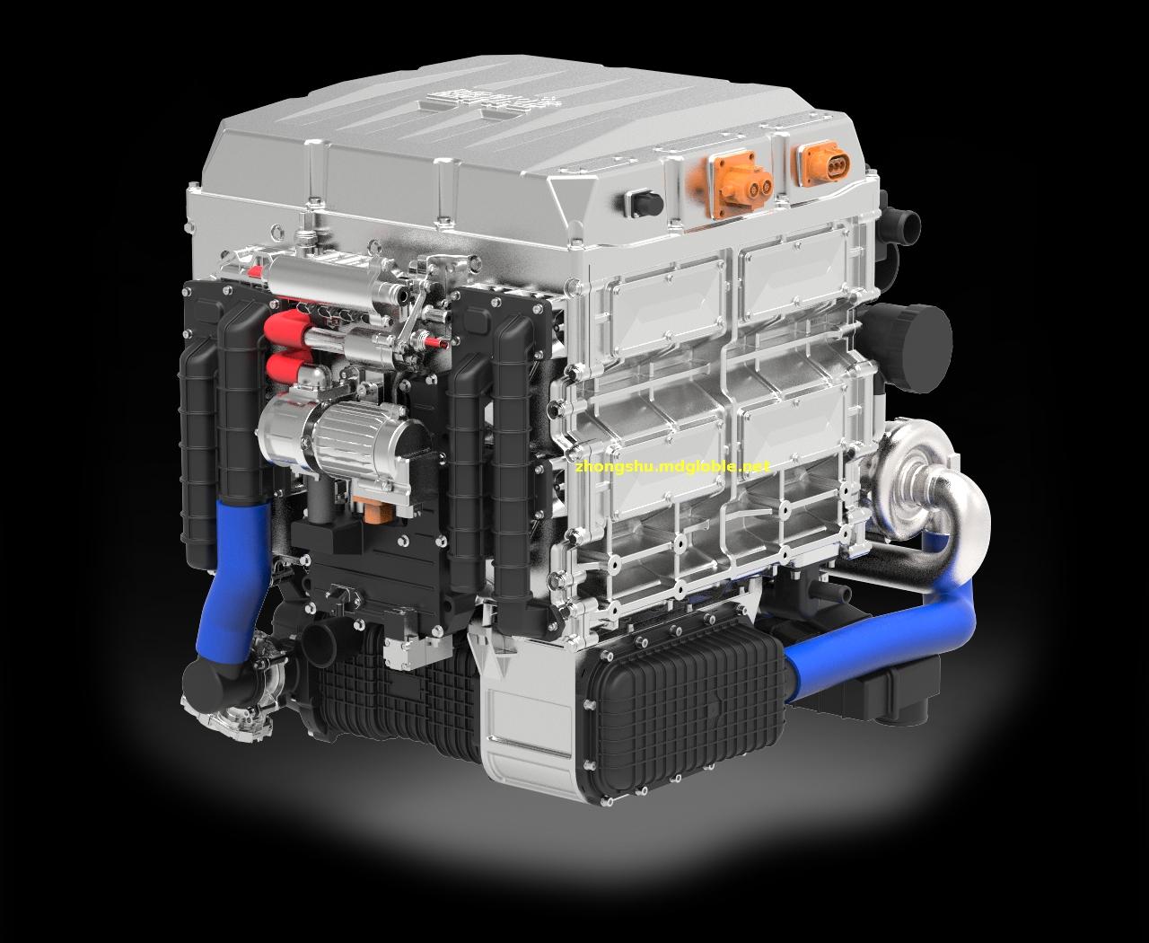 80kW燃料电池系统