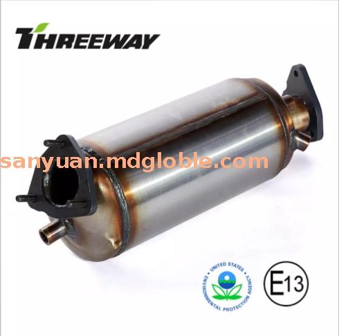 用于奥迪A4 A6 2.0的DPF柴油机微粒过滤器
