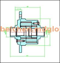 托森式差速器 BCT-101042-010