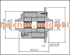 托森式差速器 BCT-252523-010